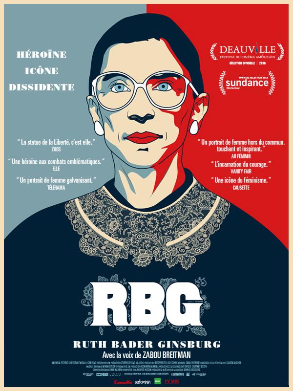Affiche film RBG