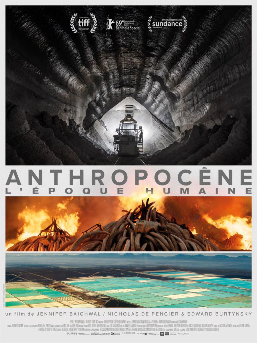 Affiche d'Anthropocène